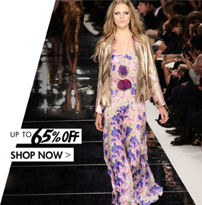 CAVALLI UP TO 65% OFF