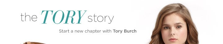 Start a new chapter with Tory Burch