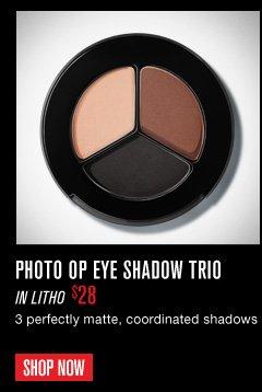 Photo Op Eye Shadow Trio in Litho