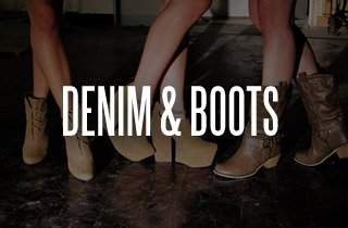 Denim & Boots Sale