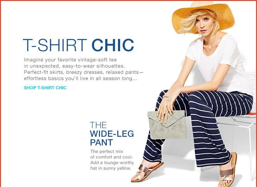 T-SHIRT CHIC | SHOP T-SHIRT CHIC | THE WIDE-LEG PANT