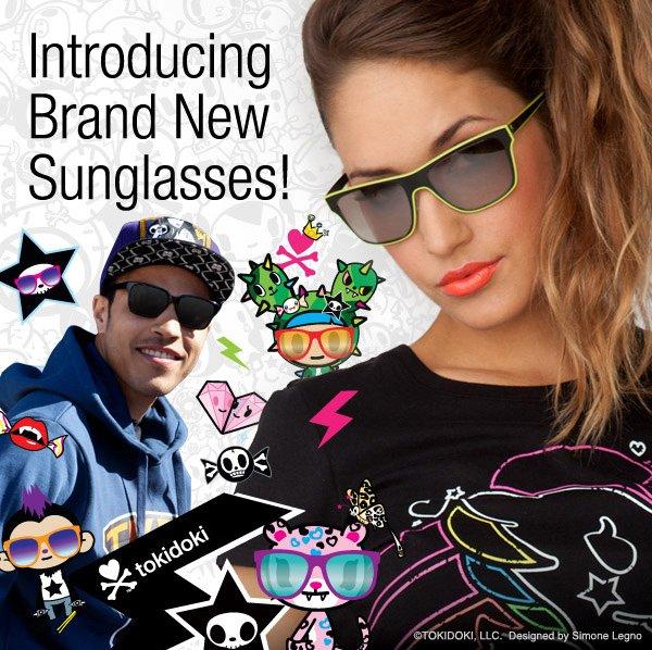 Introducing, brand new sunglasses!