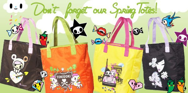 Dont forget our spring totes!