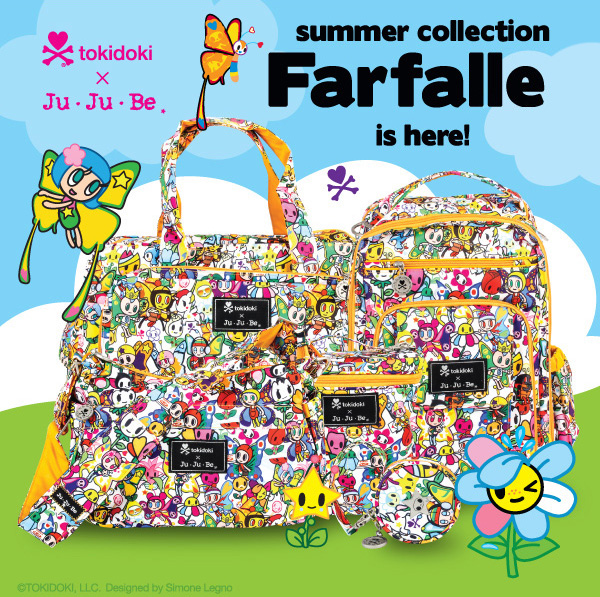 New Ju-Ju-Be Bags, Farfalle summer collection is here!