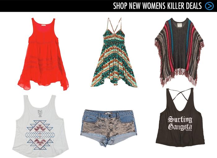 Shop New Womens Killer Deals