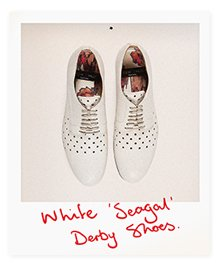 White Seagal Shoes