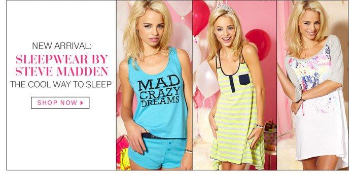Sleepwear by Steve Madden. Shop Now.