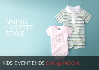 SPRING LAYETTE STYLE