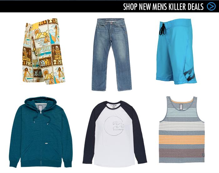 Shop New Mens Killer Deals