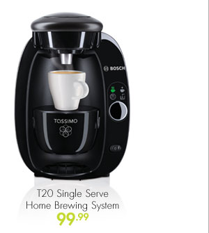 T20 Single Serve Home Brewing System 99.99