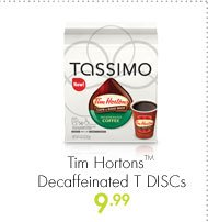 Tim Hortons(TM) Decaffeinated T DISCs 9.99
