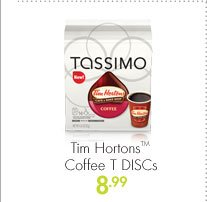Tim Hortons(TM) Coffee T DISCs 8.99