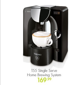 T55 Single Serve Home Brewing System 169.99
