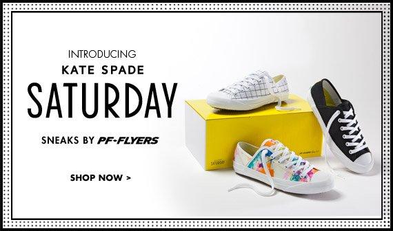 Kate Spade Saturday Sneaks by PF Flyers