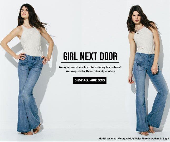 Girl Next Door - Georgia is Back!
