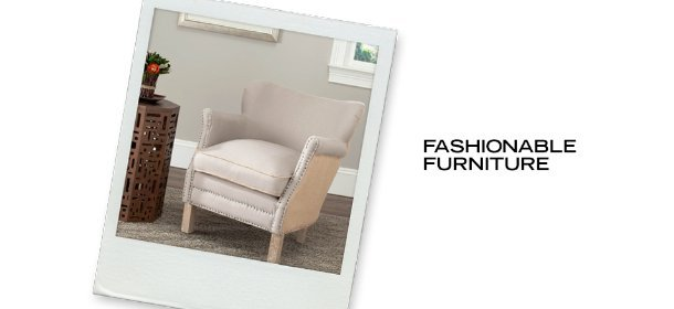 FASHIONABLE FURNITURE, Event Ends April 30, 9:00 AM PT >