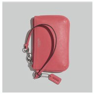 leather small wristlet