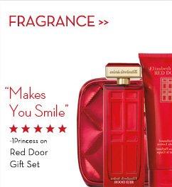 """FRAGRANCE. """"Make You Smile"""" - 1Princess on Red Door Gift Set."""