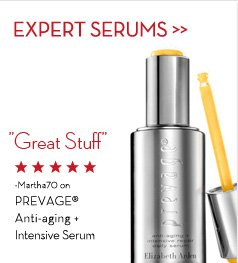 "EXPERT SERUMS. ""Great Stuff"" - Martha70 on PREVAGE® Anti-aging + Intensive Serum."
