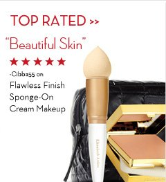"TOP RATED. ""Beautiful Skin"" - Cibba55 on Flawless Finish Sponge-On Cream Makeup."