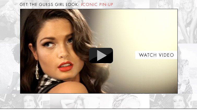 Get the GUESS Girl Look: Iconic Pin-Uo