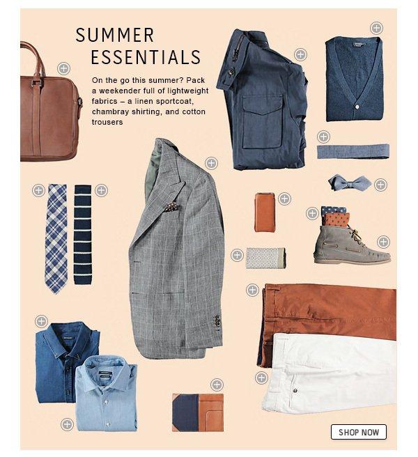 Shop the summer essentials