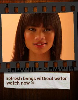 refresh bangs without water watch now