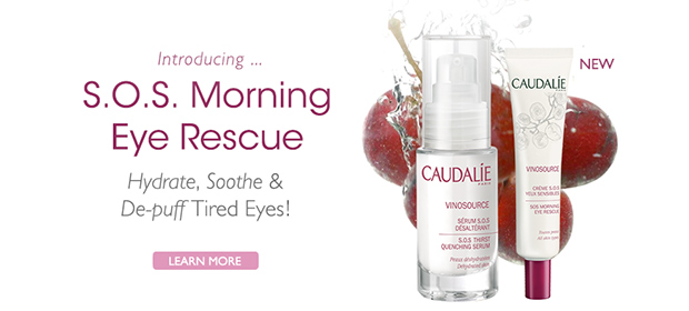 Introducing S.O.S. Morning Eye Rescue: Hydrate, Sooth and De-Puff Tired Eyes