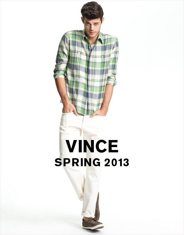 VINCE SPRING 2013