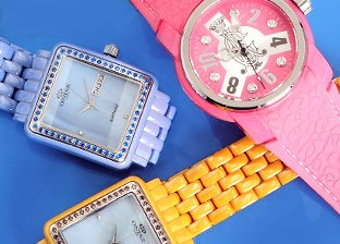 Spring Time: Colorful Watches Sale