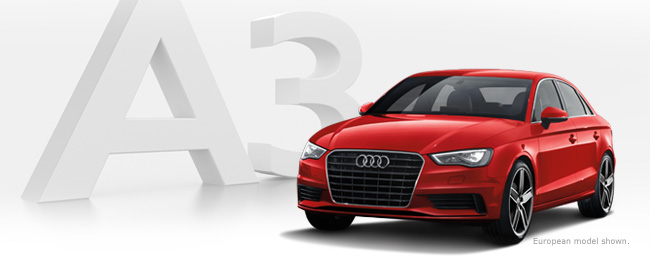 Meet the all-new Audi A3