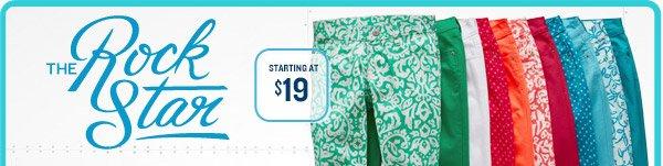 THE RockStar   STARTING AT $19