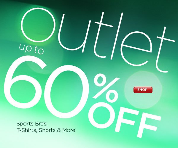 SHOP Outlet, up to 60% Off!