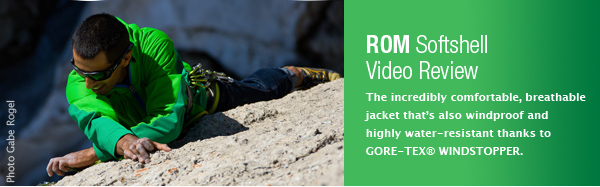 Marmot ROM Jacket Video Review