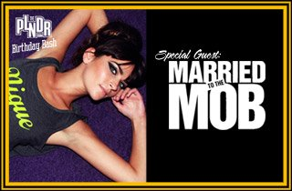 Special Guest: Married To The Mob