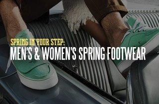 Spring In Your Step: Men's & Women's Spring Footwe