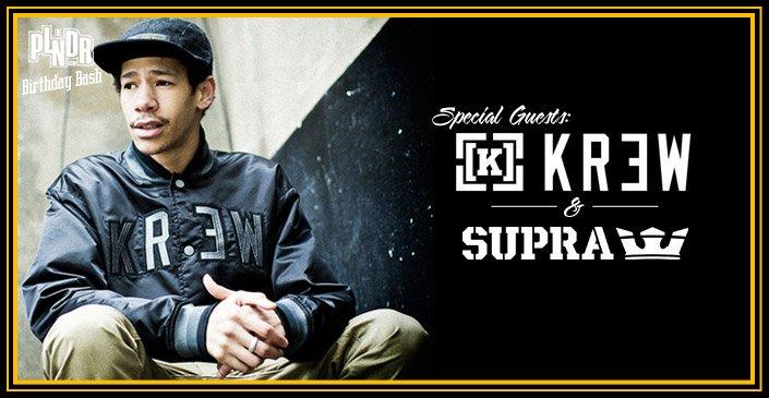 Special Guest: SUPRA & KR3W