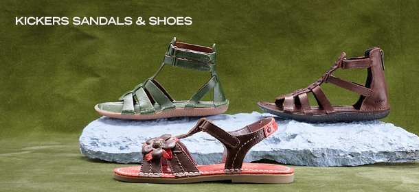 KICKERS SANDALS & SHOES, Event Ends May 30, 9:00 AM PT >