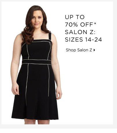 Up To 70% Off* Salon Z: Sizes 14-24