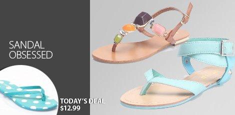 Sandal Obsessed