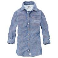 Women's Earthkeepers® 3/4-Sleeve Chambray Shirt