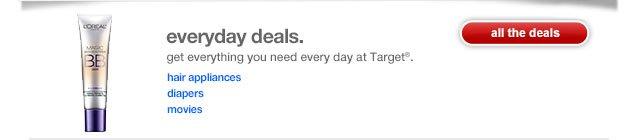 Everyday deals.