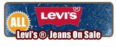 Shop Mens Levi Jeans on Sale