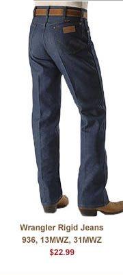 Shop Mens 22 99 Wrangler Rigid Jeans