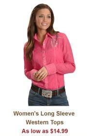Shop Womens Long Sleeve Tops