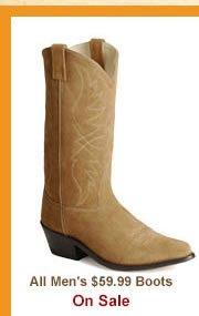 Shop Mens Boots Under 60