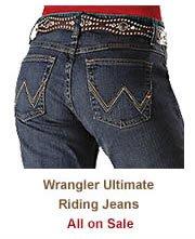 Shop Womens Unlimate Riding Jeans on Sale