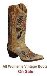 Shop Womens Vintage Boots