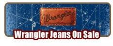 Shop Mens Wrangler Jeans on Sale