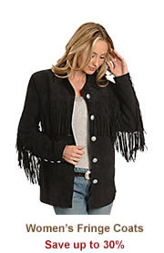 Shop Womens Fringe Coats